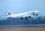 パンダさんが、広島空港で撮影したJALエクスプレス 737-846の航空フォト(飛行機 写真・画像)