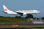 パンダさんが、成田国際空港で撮影したJALエクスプレス 737-846の航空フォト(写真)