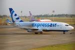 まいけるさんが、スカルノハッタ国際空港で撮影したエクスプレス・エア 737-284/Advの航空フォト(写真)