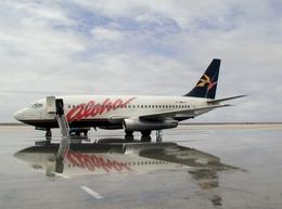 さとうさんが、アマタ カブア国際空港で撮影したアロハ航空 737-2T4/Advの航空フォト(飛行機 写真・画像)