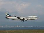 aquaさんが、関西国際空港で撮影したキャセイパシフィック航空 747-467F/SCDの航空フォト(写真)