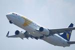 うえぽんさんが、関西国際空港で撮影したMIATモンゴル航空 737-8ASの航空フォト(写真)