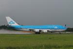 matsuさんが、成田国際空港で撮影したKLMオランダ航空 747-406の航空フォト(写真)