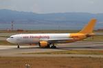 T.Sazenさんが、関西国際空港で撮影したエアー・ホンコン A300F4-605Rの航空フォト(写真)