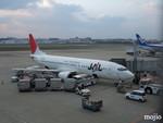 mojioさんが、福岡空港で撮影したJALエクスプレス 737-446の航空フォト(飛行機 写真・画像)