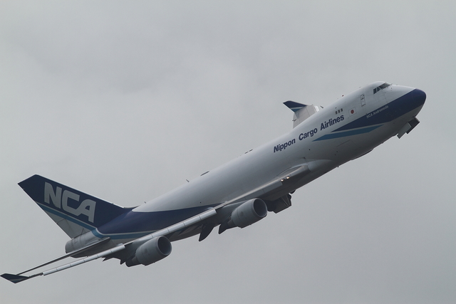 maruさんが、成田国際空港で撮影した日本貨物航空 747-4KZF/SCDの航空フォト(飛行機 写真・画像)