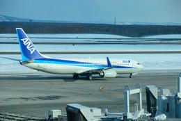 パンダさんが、新千歳空港で撮影した全日空 737-881の航空フォト(飛行機 写真・画像)