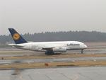 aquaさんが、成田国際空港で撮影したルフトハンザドイツ航空 A380-841の航空フォト(写真)