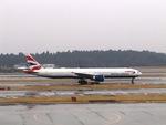 aquaさんが、成田国際空港で撮影したブリティッシュ・エアウェイズ 777-336/ERの航空フォト(写真)