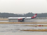 aquaさんが、成田国際空港で撮影したヴァージン・アトランティック航空 A340-642の航空フォト(写真)