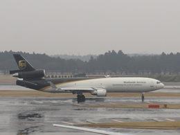 aquaさんが、成田国際空港で撮影したUPS航空 MD-11Fの航空フォト(飛行機 写真・画像)