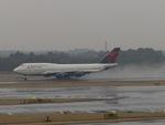 aquaさんが、成田国際空港で撮影したデルタ航空 747-451の航空フォト(写真)
