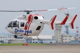 へりさんが、名古屋飛行場で撮影したセントラルヘリコプターサービス BK117C-2の航空フォト(写真)