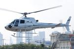 へりさんが、東京ヘリポートで撮影した雄飛航空 AS350B Ecureuilの航空フォト(写真)