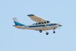 パンダさんが、成田国際空港で撮影したアイベックスアビエイション U206G Stationair 6の航空フォト(写真)