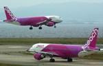 rjnsphotoclub-No.07さんが、関西国際空港で撮影したピーチ A320-214の航空フォト(飛行機 写真・画像)