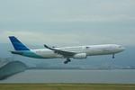 rjnsphotoclub-No.07さんが、関西国際空港で撮影したガルーダ・インドネシア航空 A330-341の航空フォト(写真)