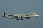 rjnsphotoclub-No.07さんが、関西国際空港で撮影したカタール航空 777-3DZ/ERの航空フォト(写真)