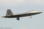 Chofu Spotter Ariaさんが、横田基地で撮影したアメリカ空軍 F-22A-35-LM Raptorの航空フォト(飛行機 写真・画像)