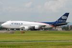 Chofu Spotter Ariaさんが、横田基地で撮影したワールド・エアウェイズ 747-412(BDSF)の航空フォト(飛行機 写真・画像)