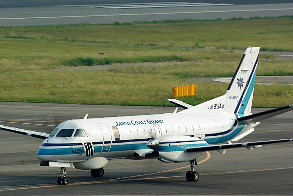 rjnsphotoclub-No.07さんの海上保安庁 Saab 340 (JA954A) 航空フォト