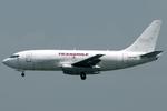 jun☆さんが、香港国際空港で撮影したトランスマイル・エア・サービス 737-275C/Advの航空フォト(写真)