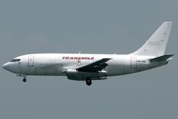 jun☆さんが、香港国際空港で撮影したトランスマイル・エア・サービス 737-275C/Advの航空フォト(飛行機 写真・画像)