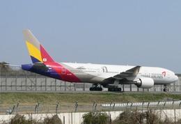 アシアナ航空 Boeing 777-200 (HL7755)  航空フォト | by エアーワンさん  撮影2008年04月06日%s