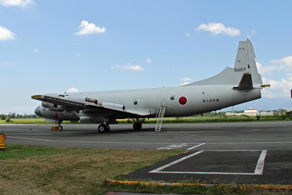 りんたろうさんの海上自衛隊 Kawasaki P-3C Orion (5007) 航空フォト