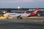 SKYLINEさんが、成田国際空港で撮影したカンタス航空 747-438の航空フォト(写真)