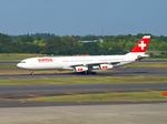 ken_c_loさんが、成田国際空港で撮影したスイスインターナショナルエアラインズ A340-313Xの航空フォト(写真)