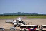 夏奈さんが、中標津空港で撮影したユナイテッド航空の航空フォト(飛行機 写真・画像)