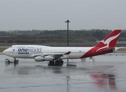 エアーワンさんが、成田国際空港で撮影したカンタス航空 747-438の航空フォト(写真)