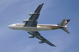 hiroki_h2さんが、関西国際空港で撮影したシンガポール航空カーゴ 747-412F/SCDの航空フォト(飛行機 写真・画像)