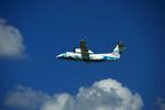 T.Sazenさんが、伊丹空港で撮影した天草エアライン DHC-8-103Q Dash 8の航空フォト(写真)