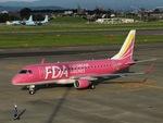 aquaさんが、名古屋飛行場で撮影したフジドリームエアラインズ ERJ-170-200 (ERJ-175STD)の航空フォト(飛行機 写真・画像)