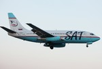 エアーワンさんが、茨城空港で撮影したサハリン航空 737-2J8/Advの航空フォト(写真)