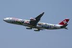 SKYLINEさんが、成田国際空港で撮影したスイスインターナショナルエアラインズ A340-313Xの航空フォト(飛行機 写真・画像)