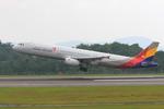 ふじいあきらさんが、広島空港で撮影したアシアナ航空 A321-231の航空フォト(飛行機 写真・画像)