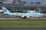 WING_ACEさんが、羽田空港で撮影した大韓航空 747-4B5の航空フォト(飛行機 写真・画像)