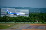 パンダさんが、新千歳空港で撮影したANAウイングス 737-54Kの航空フォト(写真)