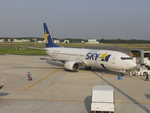 chichiさんが、茨城空港で撮影したスカイマーク 737-86Nの航空フォト(写真)
