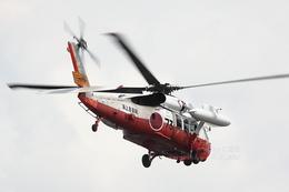 sky123さんが、横浜市西区みなとみらい21中央地区耐震バースで撮影した海上自衛隊 UH-60Jの航空フォト(写真)