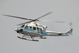 sky123さんが、横浜市西区みなとみらい21中央地区耐震バースで撮影した海上保安庁 412EPの航空フォト(写真)