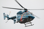 sky123さんが、横浜市西区みなとみらい21中央地区耐震バースで撮影した神奈川県警察 BK117B-2の航空フォト(写真)