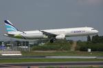 WING_ACEさんが、成田国際空港で撮影したエアプサン A321-131の航空フォト(飛行機 写真・画像)