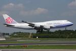 WING_ACEさんが、成田国際空港で撮影したチャイナエアライン 747-409の航空フォト(写真)