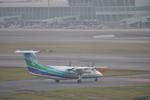 あっしーさんが、福岡空港で撮影したオリエンタルエアブリッジ DHC-8-201Q Dash 8の航空フォト(写真)