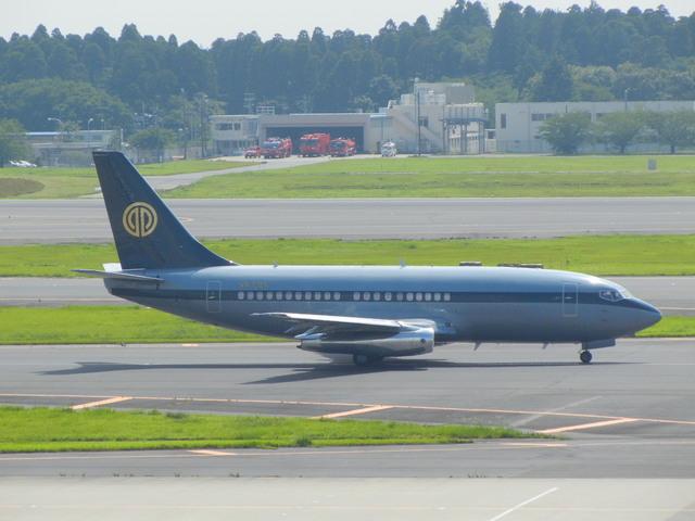 キャッチャーさんが、成田国際空港で撮影したスカイ・アヴィエーション 737-2W8/Advの航空フォト(飛行機 写真・画像)
