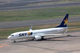 sky123さんが、羽田空港で撮影したスカイマーク 737-8HXの航空フォト(写真)